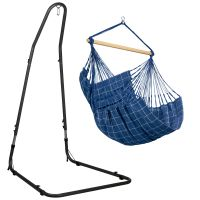 Domingo Marine - Comfort hängstol med pulverlackerad stål-ställning