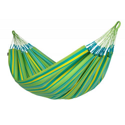 Brisa Lime - Vädertålig klassisk dubbel hängmatta