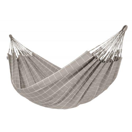 Brisa Almond - Vädertålig klassisk dubbel hängmatta