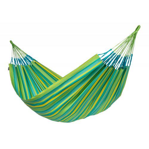 Brisa Lime - Vädertålig klassisk kingsize hängmatta