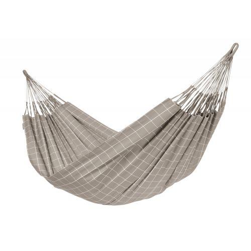 Brisa Almond - Vädertålig klassisk kingsize hängmatta