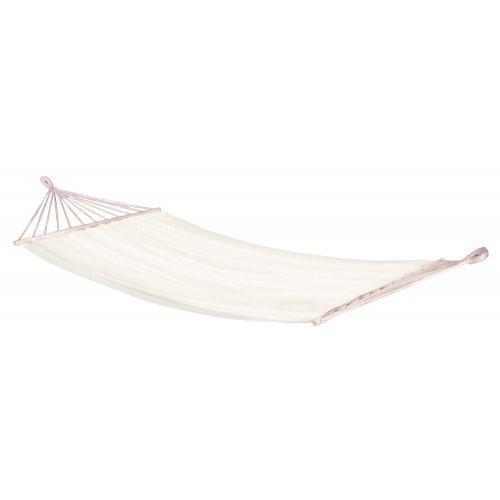 CHILLOUNGE® Beach - Singel hängmatta med träkarmar