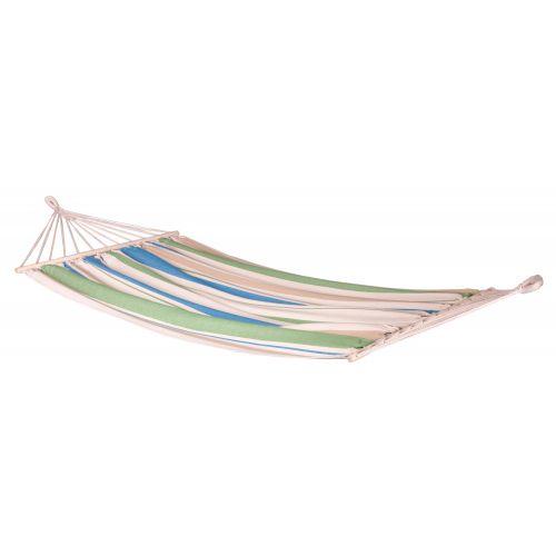 CHILLOUNGE® Green Bay - Singel hängmatta med träkarmar