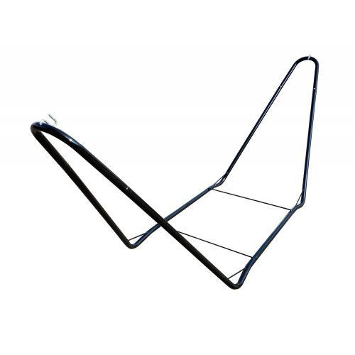 CHILLOUNGE® Black - Pulverlackerad stål-ställning för singel hängmattor