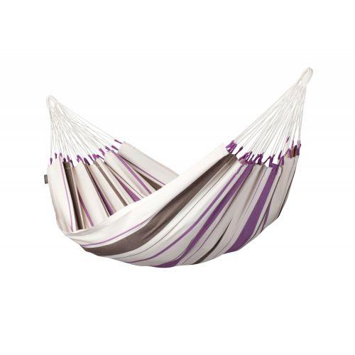Caribeña Purple - Klassisk singel hängmatta i bomull