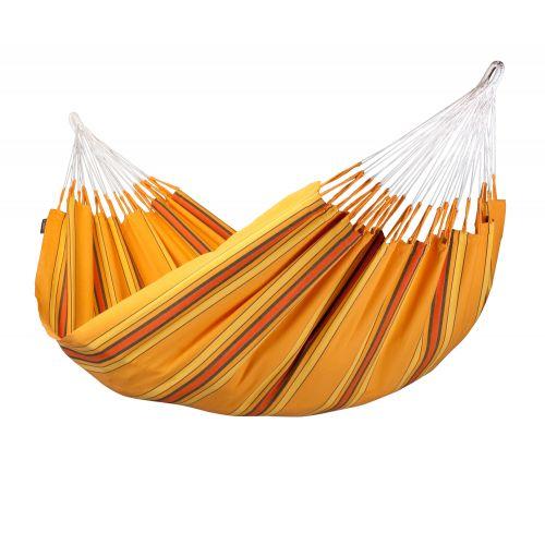 Currambera Apricot - Klassisk dubbel hängmatta i bomull