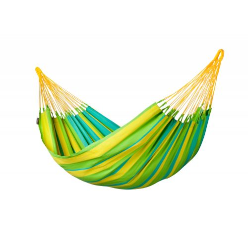 Sonrisa Lime - Vädertålig klassisk singel hängmatta